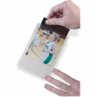 Clear View Self-Adhesive Photo/Index Card Pocket 4  x 6 , Pack of 25 - 1