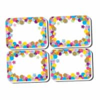 Ashley Productions ASH78008 Confetti Pattern Mini Erasers, Pack of 10