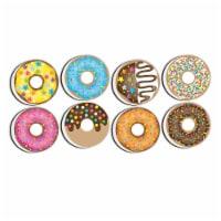 Non-Magnetic Mini Whiteboard Erasers, DonutFetti®, 8-Pack - 1