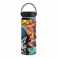 MightySkins HFWI18-Graffiti Wild Styles Skin for Hydro Flask 18 oz Wide Mouth - Graffiti Wild - 1