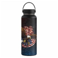 MightySkins HFWI40-Armed Eagle Skin for Hydro Flask 40 oz Wide Mouth - Armed Eagle
