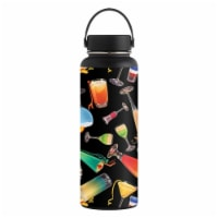 MightySkins HFWI40-Cocktail Therapy Skin for Hydro Flask 40 oz Wide Mouth - Cocktail Therapy - 1