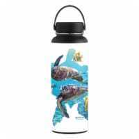 MightySkins HFWI40-Turtly Cool Skin for Hydro Flask 40 oz Wide Mouth - Turtly Cool - 1