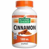 Botanic Choice  Cinnamon 1000 mg. Blood Sugar Herbal Supplement - 60 capsules