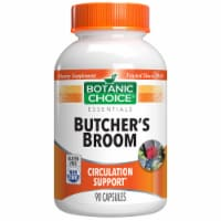 Botanic Choice  Butcher's Broom Extract 110 mg. Circulation Herbal Supplement - 90 Capsules