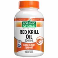 Botanic Choice  Red Krill Oil 500 mg. - 60 softgels