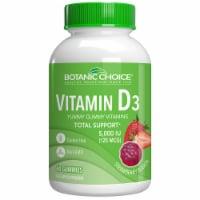 Botanic Choice  Vitamin D3 Gummy Dietary Supplement - 60 Gummies