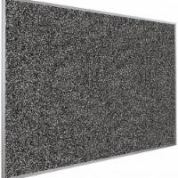 Best-Rite Bulletin Board,96  W x 48  H,Black Board  321AH-96 - 1