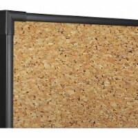 Best-Rite Bulletin Board,96 W x 48  H,Black Frame  3018H - 1