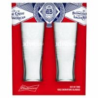 Budweiser 811465 Budweiser Signature Glassware Set - 2 Piece