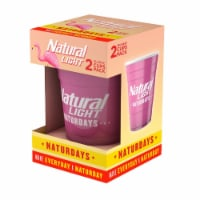 Natural Light 811463 Natural Light Naturdays Reusable Plastic Cups - Pack of 2 - 1