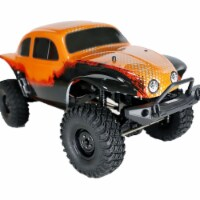 ALEKO RCCAR15-UNB 1 by 10 Scale Rock Crawler Off-Road 4WD Electric Powered RC Car, Orange - 1