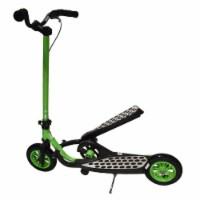 Aleko Z100GR-UNB Fly Range Motion Portable Scooter Stepper Bike for Youth - Green