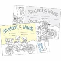 Barker Creek 1595305 Student of The Week Awards & Bookmarks Set, Pack of 30