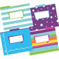 File Folders, Letter-Size, Happy, Pack of 12 - 1