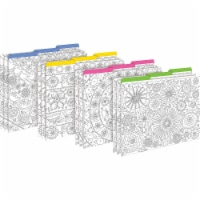 Color Me! In My Garden File Folders, Letter-Size, Pack of 12 - 1