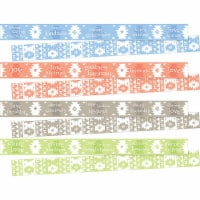 Barker Creek 2004986 3 x 35 in. 4 Designs Celebrate Thoughtfulness Trimmers - 48 Strips