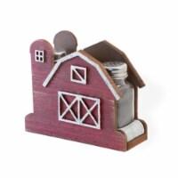 Boston International MJA18501 Red Barn Salt & Pepper Shaker Set - 1