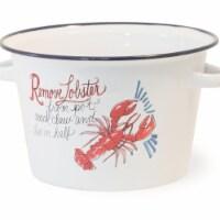 Boston International 16 Cup Lobster Bake Metal Pot - 1