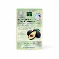 Earth Therapeutics Nourishing Avocado Facial Sheet Mask