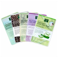 Earth Therapeutics Assorted Facial Sheet Masks