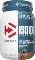 Dymatize ISO100® Hydrolyzed Gourmet Chocolate 100% Whey Protein Isolate Powder