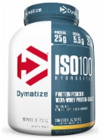 Dymatize  ISO100® Hydrolyzed 100% Whey Protein Isolate   Smooth Banana