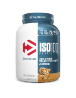 Dymatize  ISO•100® Hydrolyzed 100% Whey Protein Isolate   Peanut Butter