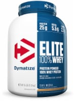 Dymatize Elite Cafe Mocha flavored 100% Whey Protein Powder