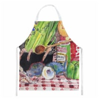 Carolines Treasures  8825-2APRON Gumbo and Potato Salad  Apron 8825