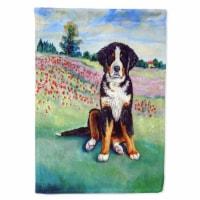 Carolines Treasures  7011CHF Bernese Mountain Dog Flag Canvas House Size