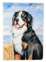 Carolines Treasures  7012CHF Bernese Mountain Dog Flag Canvas House Size