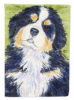 Carolines Treasures  SS1059CHF Bernese Mountain Dog Flag Canvas House Size