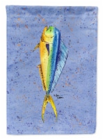 Carolines Treasures  8349-FLAG-PARENT Fish Dolphin Flag