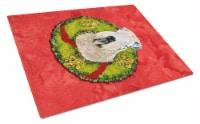 Carolines Treasures  SS4178LCB Wheaten Terrier Soft Coated Glass Cutting Board L - 12Hx15W