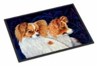 Carolines Treasures  7241MAT Papillon Indoor Outdoor Mat 18x27 Doormat
