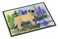Carolines Treasures  SS8009MAT Mastiff Indoor Outdoor Mat 18x27 Doormat