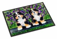 Carolines Treasures  SS8334MAT Bernese Mountain Dog Indoor Outdoor Mat 18x27 Doo