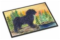 Carolines Treasures  SS8347MAT Puli Indoor Outdoor Mat 18x27 Doormat