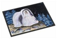 Carolines Treasures  SS8450MAT Starry Night Havanese Indoor Outdoor Mat 18x27 Do