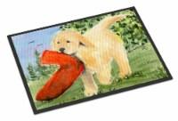Carolines Treasures  SS8762MAT Golden Retriever Indoor Outdoor Mat 18x27 Doormat