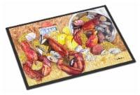 Carolines Treasures  8719MAT Lobster  Indoor or Outdoor Mat 18x27 Doormat