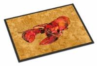 Carolines Treasures  8715MAT Lobster  Indoor or Outdoor Mat 18x27 Doormat