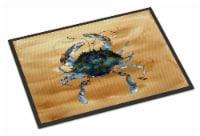 Carolines Treasures  8159-MAT Crab  Indoor or Outdoor Mat 18x27 8159 Doormat