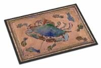 Carolines Treasures  8079-MAT Crab  Indoor or Outdoor Mat 18x27 8079 Doormat