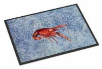 Carolines Treasures  8231-JMAT Crawfish  Indoor or Outdoor Mat 24x36 8231 Doorma - 24Hx36W