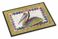 Carolines Treasures  8057-JMAT Pelican  Indoor or Outdoor Mat 24x36 8057 Doormat - 24Hx36W