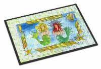 Carolines Treasures  8083-JMAT Mermaid  Indoor or Outdoor Mat 24x36 8083 Doormat