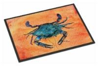 Carolines Treasures  8097-JMAT Crab  Indoor or Outdoor Mat 24x36 8097 Doormat