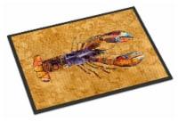 Carolines Treasures  8716JMAT Lobster  Indoor or Outdoor Mat 24x36 Doormat - 24Hx36W